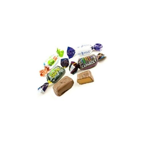 Karamellák csoki borításban