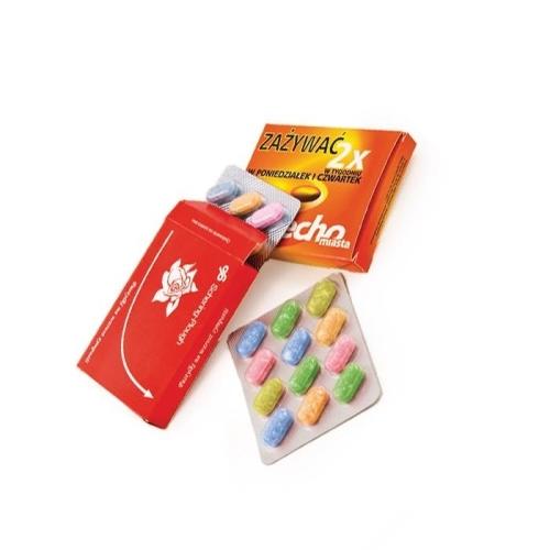 Bliszteres cukorkák