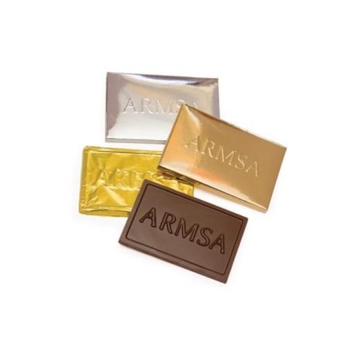Mini, bankkártya alakú csokik