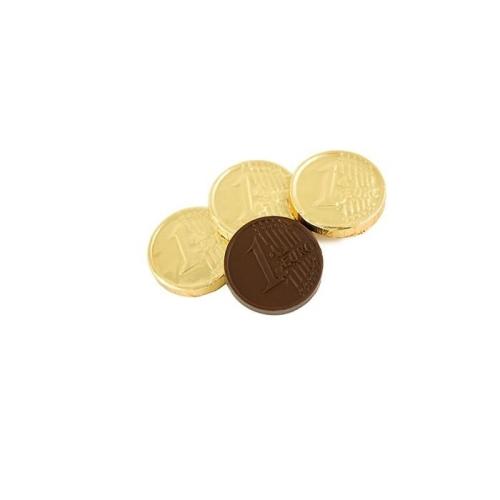 1 Eurós csoki érme