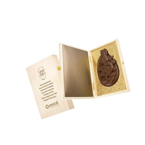 Csokinyuszi kartondobozkában