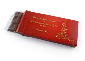 dobozos táblás reklámcsoki karácsonyi grafikával
